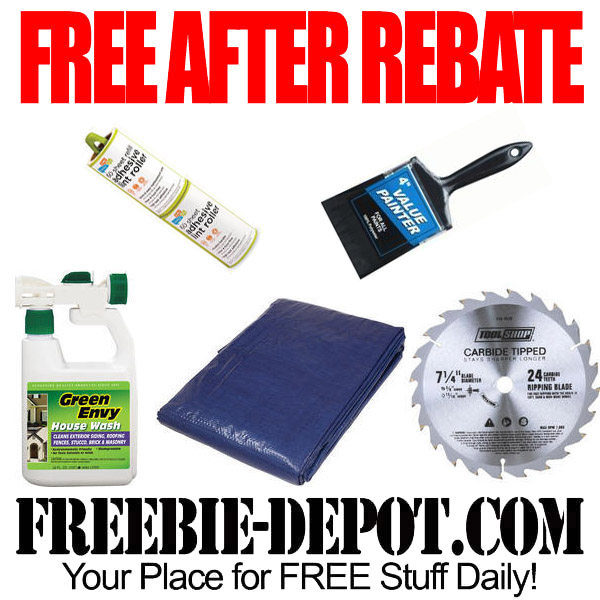 Free after rebate home hardware items at menards for Home depot memorial day paint rebate