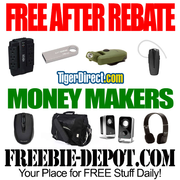 Free After Rebate Tiger Direct Money Makers