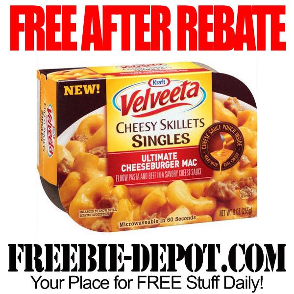Free After Rebate Velveeta Meal