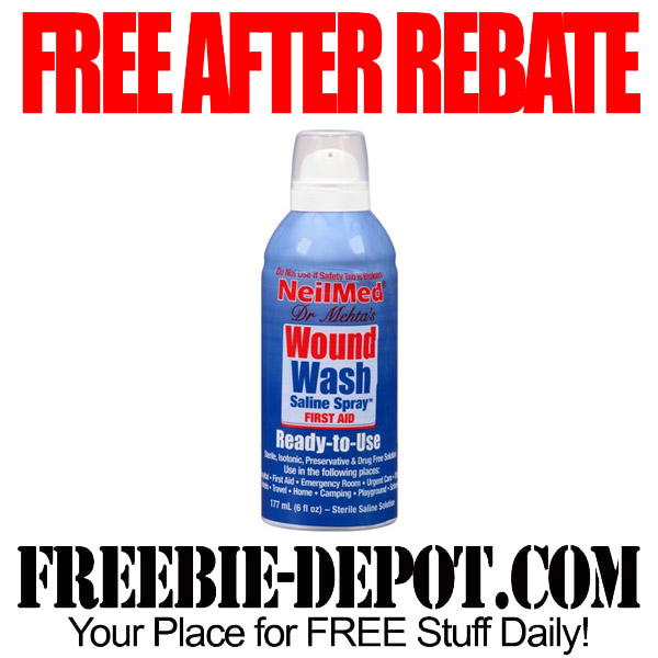 Free After Rebate Wound Wash