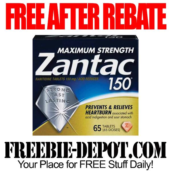 Free After Rebate Zantac