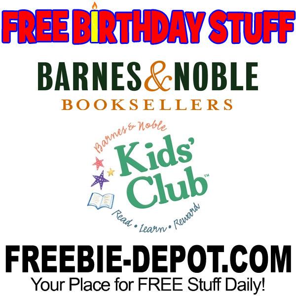 FREE BIRTHDAY STUFF – Barnes & Noble