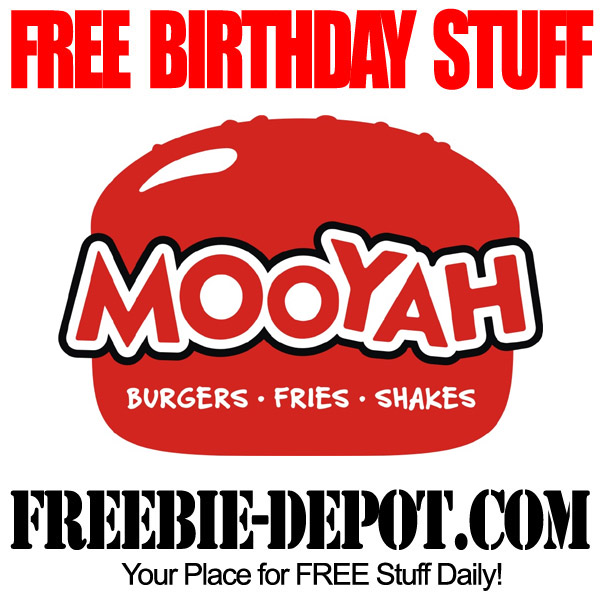 Free Birthday Burger at Mooyah