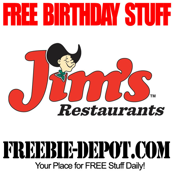 Free Birthday Discount at Jims in Texas