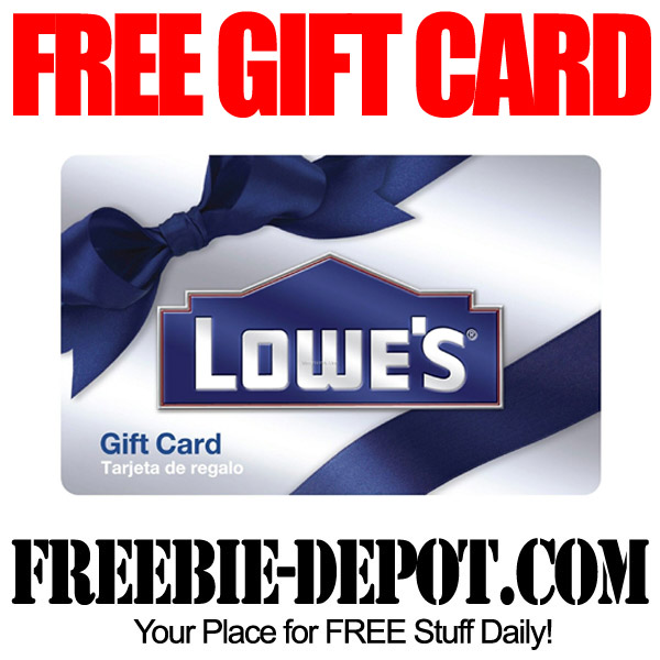 Free-Gift-Card-Lowes