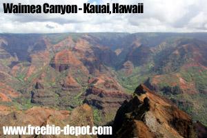 Free Garden Isle Hawaii Sightseeing
