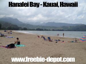 Free Kauai Beach