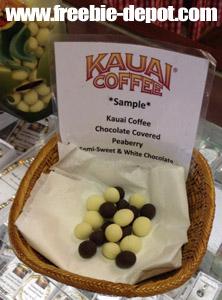 Free Kauai Coffee Sample
