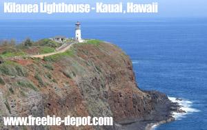 Free Kauai Tourist Attraction Lighthouse