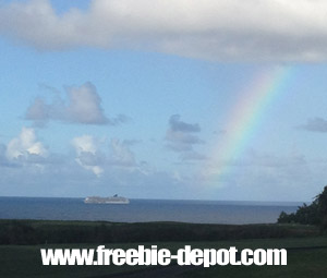 Free Kauai Hawaii Rainbows