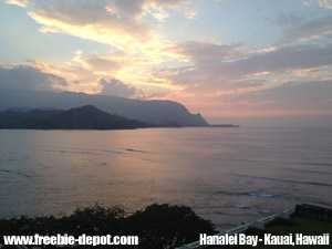 Free-Kauai-Sunset