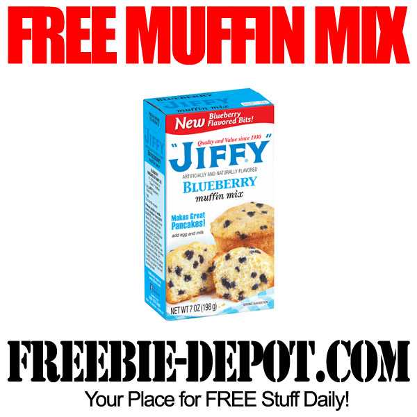 Free Jiffy Muffin Mix