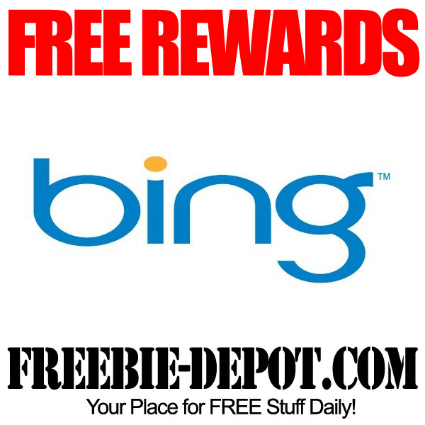 Free Rewards from Bing for Online Searches