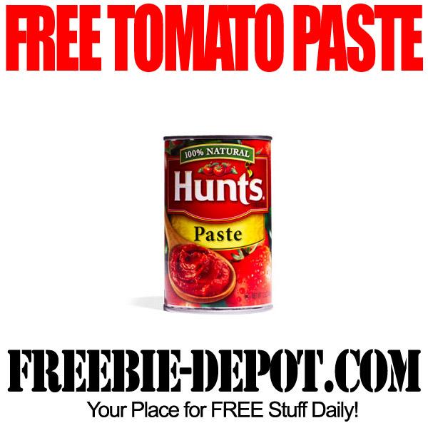 FREE Hunts Tomato Paste