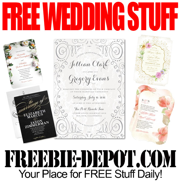 Completely Free Wedding Stationery