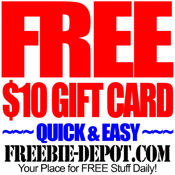 Free $10 Gift Certificate