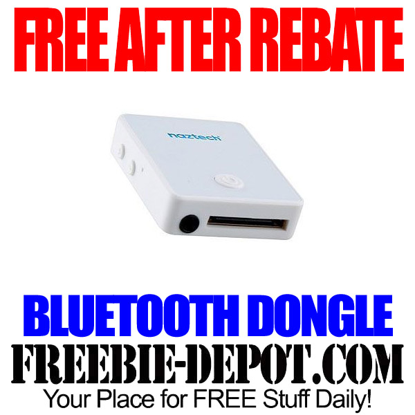 Free After Rebate Bluetooth Dongle