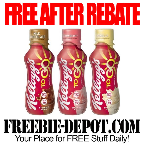Free After Rebate Breakfast Shake