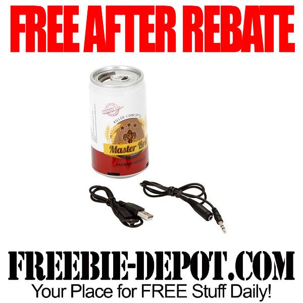 Free After Rebate Bru Speaker