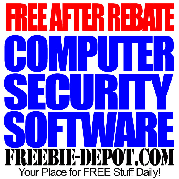 Free After Rebate Computer Security Software