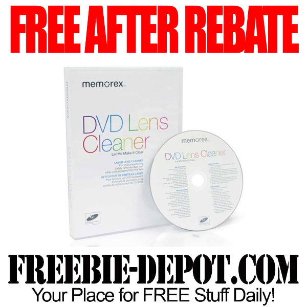 Free After Rebate DVD Lens Cleaner