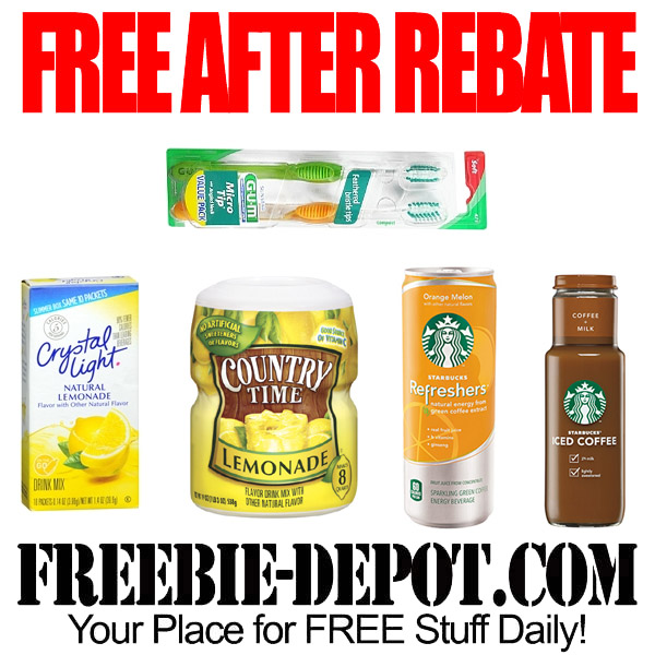 Free After Rebate Drinks