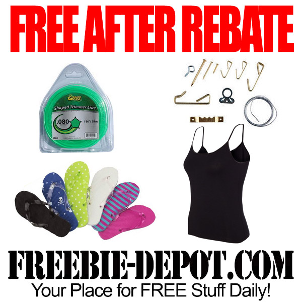 Free After Rebate Flip Flops and Tank Tops