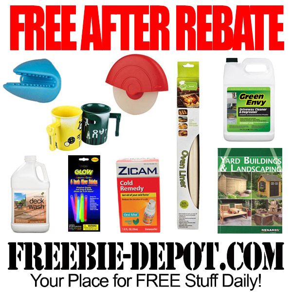 Free After Rebate Kitchen Items