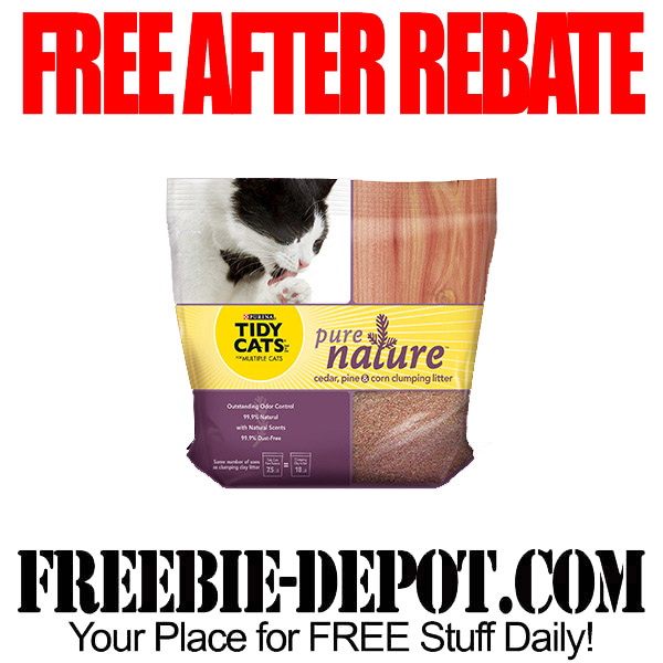 Free After Rebate Purina Cat Litter