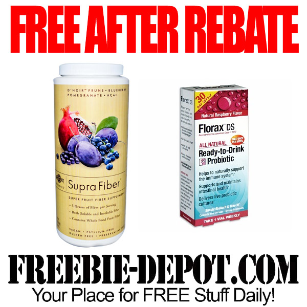 Free After Rebate Super Fiber and Probiotic