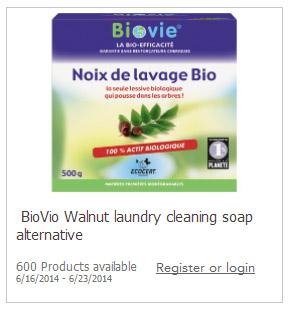 Free BioVio Detergent