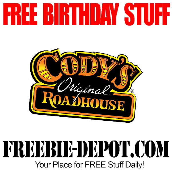 Free Birthday Discount at Codys in Florida
