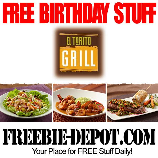 Free Birthday El Torito Grill