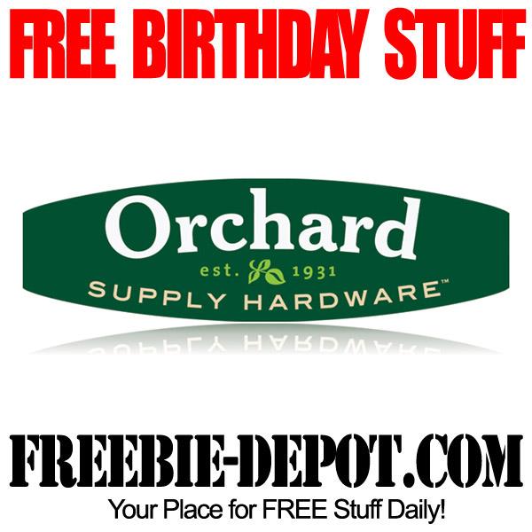 Free Birthday Hardware Store Certificate