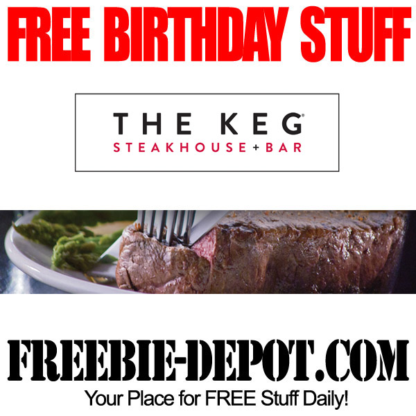 Free Birthday Steak at the Keg
