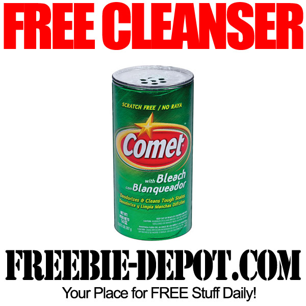 Free Cleanser with Bleach