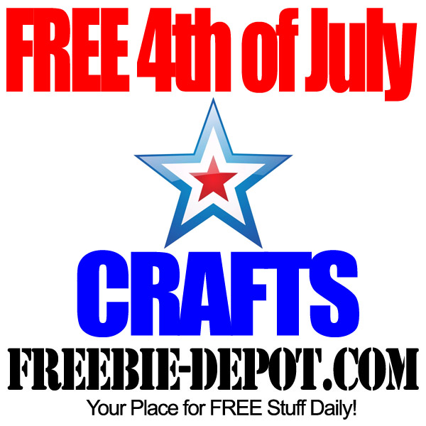 FREE 4th of July Crafts
