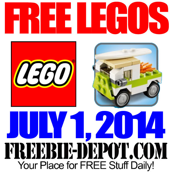 Free Lego Beach Van