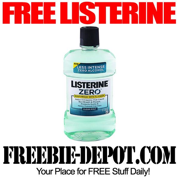 Free Listerine Mouthwash