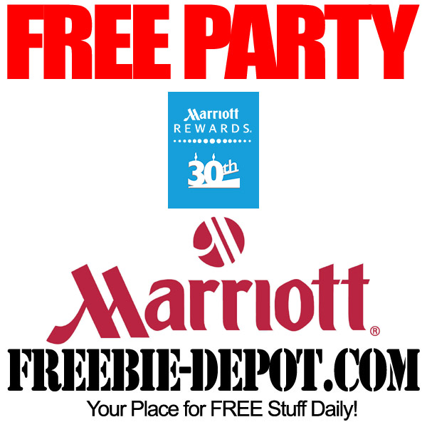 FREE Surprise Party from Marriott