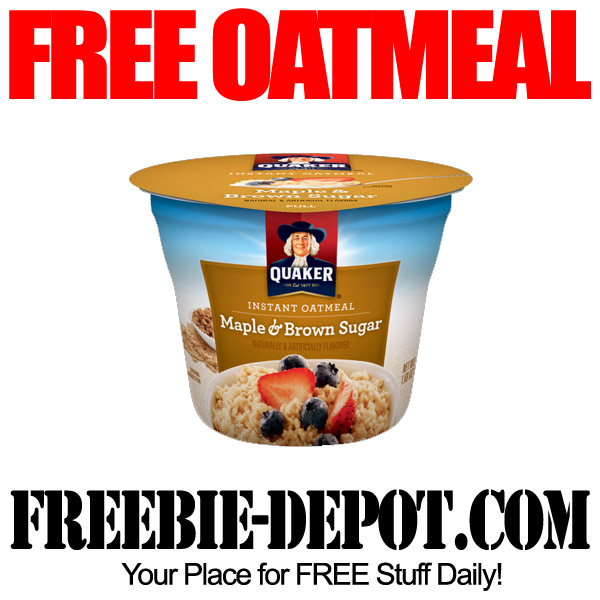Free Cup of Oatmeal