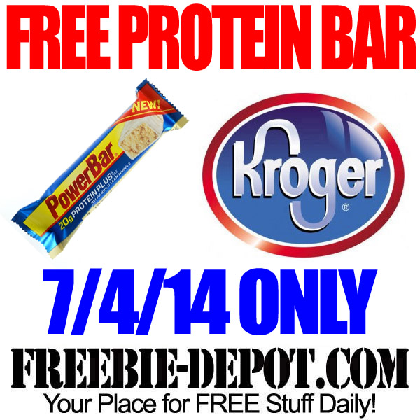 Free PowerBar Protein Bar at Kroger