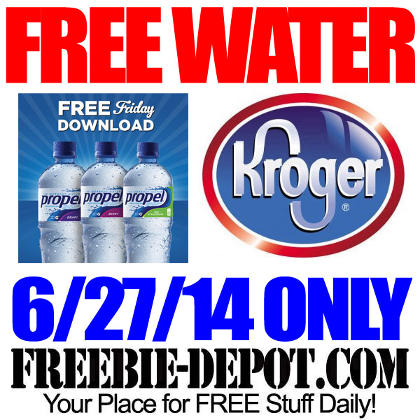 Free Water at Kroger