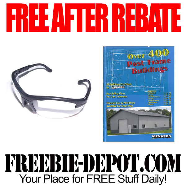 Free After Rebate Safety Goggles