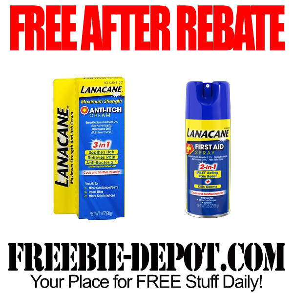 Free After Rebate Lanacane