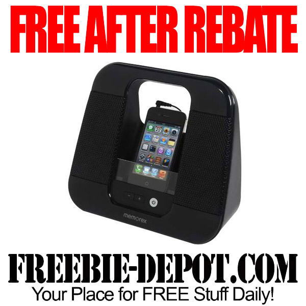 Free After Rebate Portable Speaker