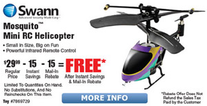 Free After Mail In Rebate RC Helicopter