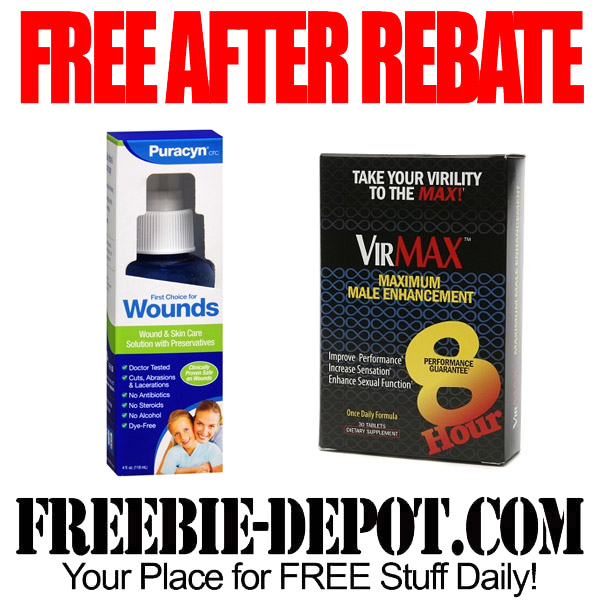 Free After Rebate Wellness Products