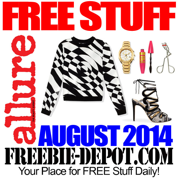 FREE Stuff from Allure – August 2014