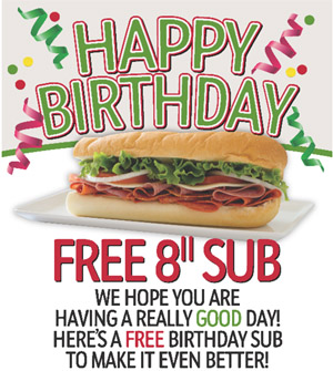 Free Bday Sub